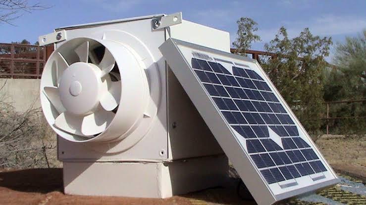 دستگاه سرمایشی خورشیدی